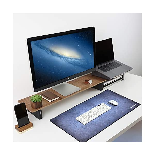 Gaming Mouse Pad Large Mouse Pad Xl Gray Mouse Pads For Computers 3151575in Large Extended Gaming Keyboard Mouse Pads Big Desk Mouse Mat Designed For Gaming Surfaceoffice Durable Edges
