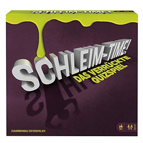 Mattel Games GKV76 Schleim Time Quizspiel für...