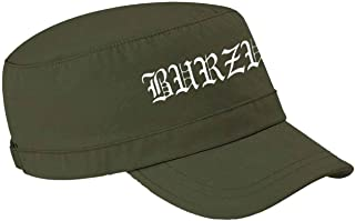 Burzum Army Cap Band Logo Hvis Lyset Tar OSS New Official Olive Green