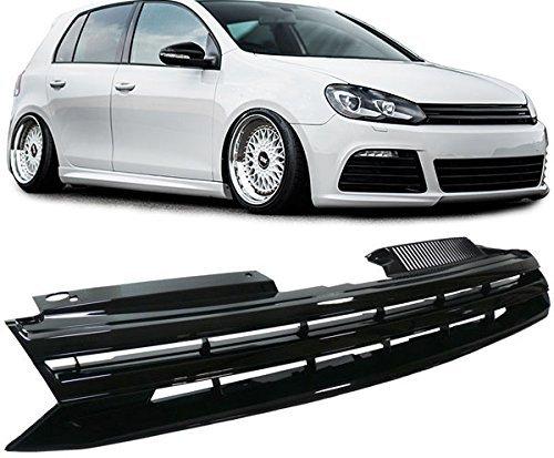 Carparts-Online 14224 Sport Grill Kühlergrill ohne Emblem schwarz