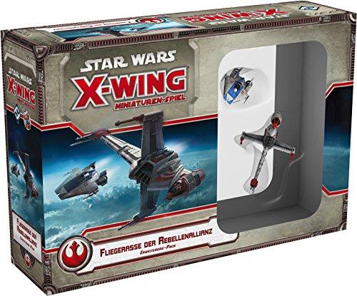 Asmodee HEI0420 - Star Wars X-Wing, Fliegerasse der Rebellenallianz, Erweiterung-Pack