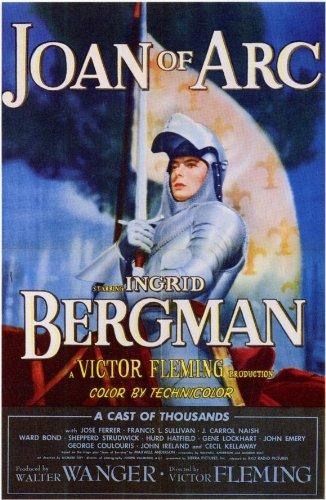 Joan of Arc Poster Movie 11x17 Ingrid Bergman Jose Ferrer John Ireland Leif Erickson -  Movie Posters, 143775
