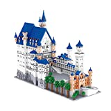 SXJZ Neuschwanstein Castle 3D Puzzles Architecture Model Kits De Construcción, Regalos De Cumpleaños para Niños Y Niñas 10000 Piezas