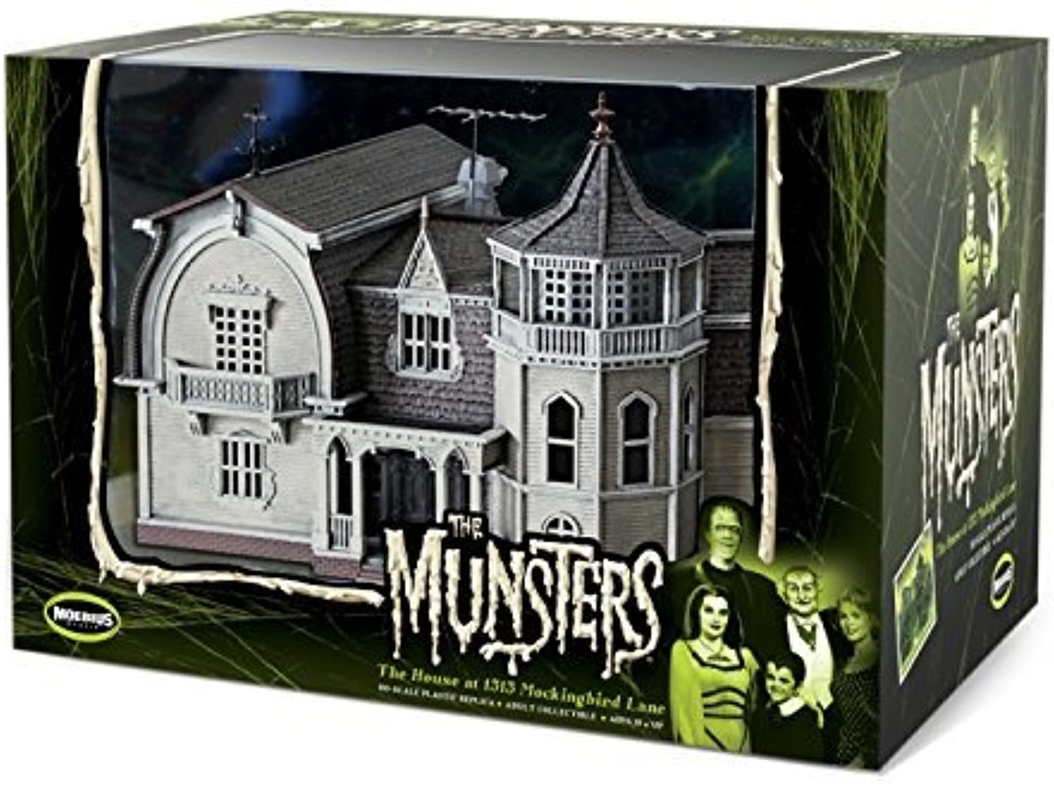 Munsters House Prefinished By Moebius Models Moe2929 by by by The Munsters 7f7e98