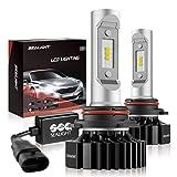Upgraded Extremely Bright 6500 Lumen Pack of 2 6000K White 1Yr SEALIGHT H11//H8//H16 Led Fog Lights Bulb