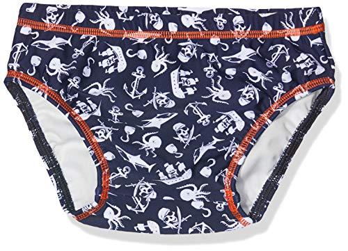 Sanetta Baby-Jungen Swim Diaper Shorts, Blau (Blue Marine 50285), 80