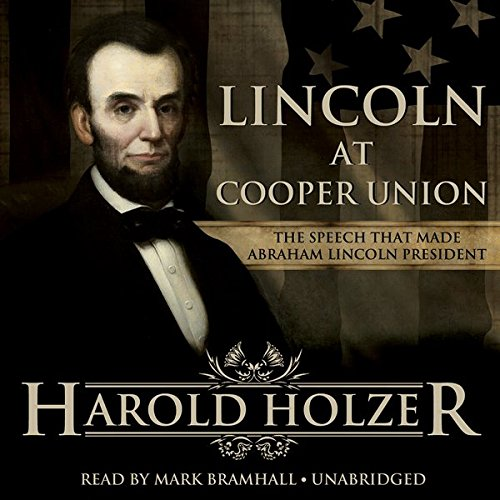 Lincoln at Cooper Union audiobook cover art