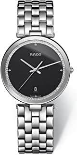 Rado Florence Men's Black Dial Metal Band Watch - R48870153
