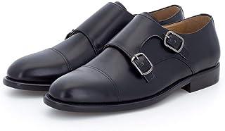 Doble Hebilla en Negro - Zapato para Hombre Gallant (44 EU)