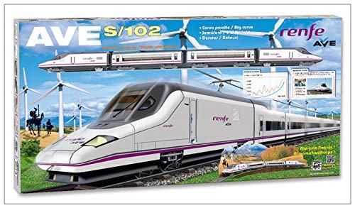 Züge & Straßenbahnen Elektrotriebzug AVE RENFE Metallwagen Brückenampel Abweichungen 710