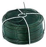 GAH-Alberts 530105 Drahtspule   verzinkt, grün kunststoffbeschichtet   Draht-Ø 1,2 mm   Länge 50 m