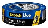 ScotchBlue 2093EL-1.5N Cinta de carrocero, azul, 38.1mm