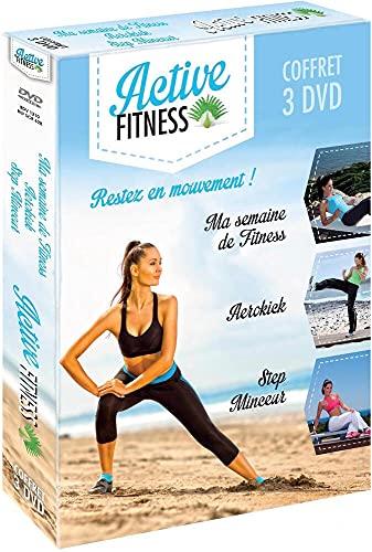 Active Fitness : Ma semaine Fitness + Aerokick + Step Minceur [Francia] [DVD]