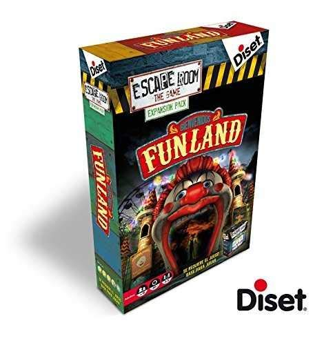 Escape Room: the game. Expansión - Funland (Diset)