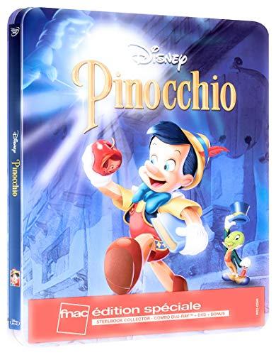 Pinocchio - Exklusiv Limited FNAC SteelBook Edition [Blu-ray]