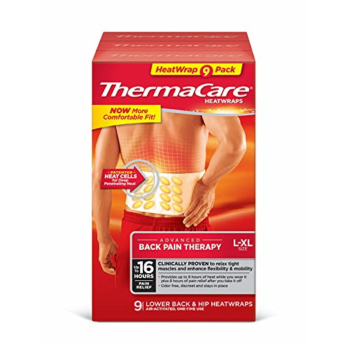 ThermaCare Lower Back and Hip Heat Wraps, 9 ct.