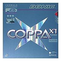 DONIC(ドニック) 卓球 コッパ X1 タ―ボ 裏ソフトラバー レッド MAX AL051