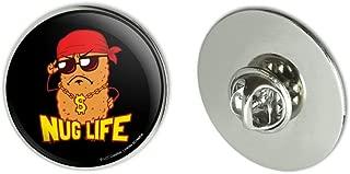 Nug Life Chicken Nugget Funny Humor Metal 1.1