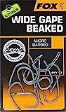 FOX Edges Armapoint Wide Gape Beaked Hooks - 10 Karpfenhaken, Angelhaken zum Karpfenangeln, Haken für Karpfen, Boiliehaken, Größe:5