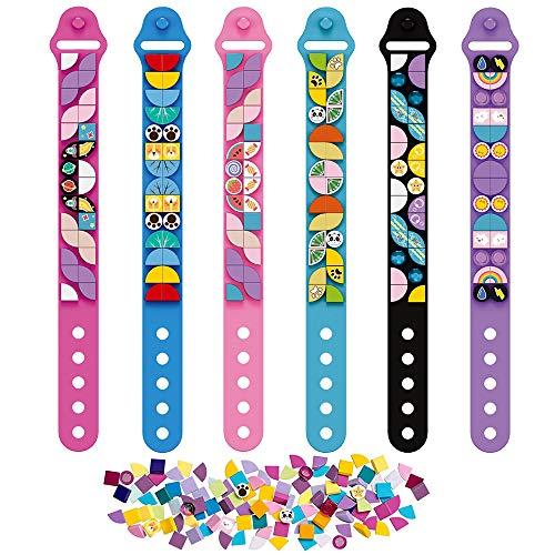 SIENON Dots Bracelets 6PCS, Kids Building Blocks Bracelets, DIY Creative...