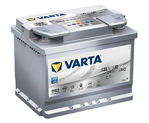 Varta Go Stop D 52-60Ah más AGM-Batería de coche