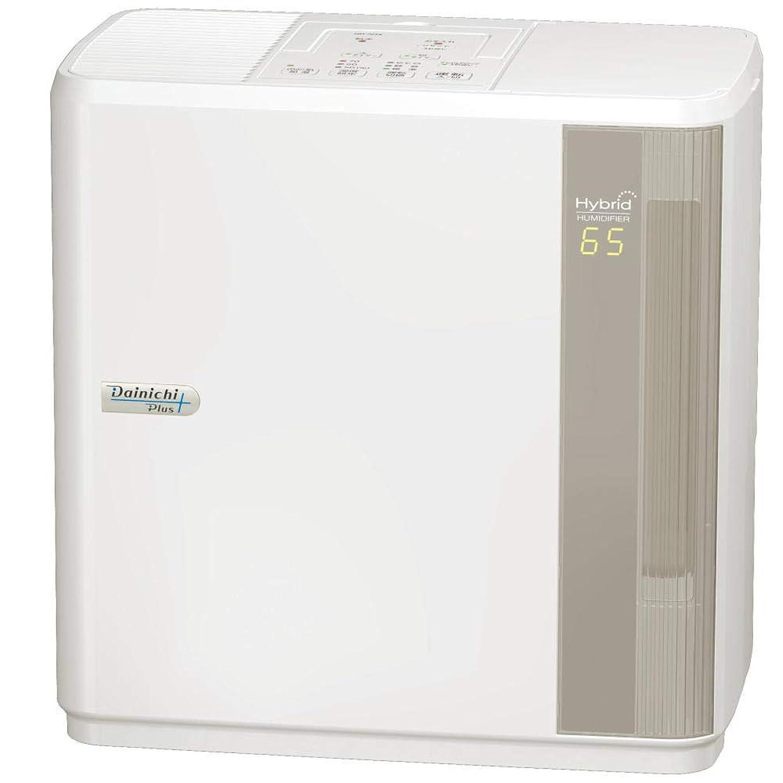 統計住居誤解するダイニチ 加湿器 ハイブリッド式(木造和室12畳まで/プレハブ洋室19畳まで) HDシリーズ ホワイト HD-7018-W