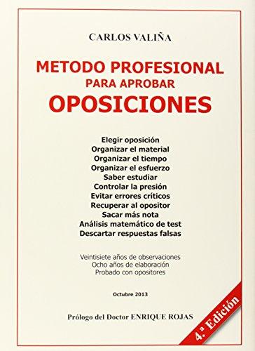 Metodo Profesional Para Aprobar Oposiciones
