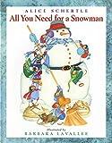 preschool and Kindergarten Snowman picture book