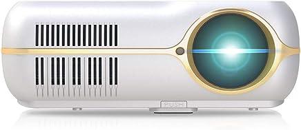 办公投影仪投影机安卓4核高清高亮4K便携家用办公商务1080p手机wifi直连无线上网3D无屏电视影院投影仪大获DH-A10白色新品(晒图送幕布) (白色)
