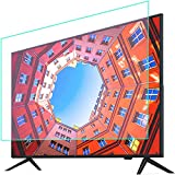 CXSMKP Anti Blue Light TV Screen Protector Indoor & Outdoor Anti-Glare TV Protector Film for LCD/LED/OLED & QLED 4K HDTV