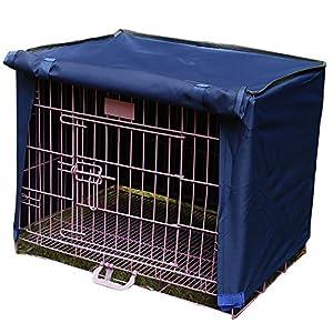 Housse de cage pour chien - Toile imperméable et robuste en mélange de polyester - HZC41