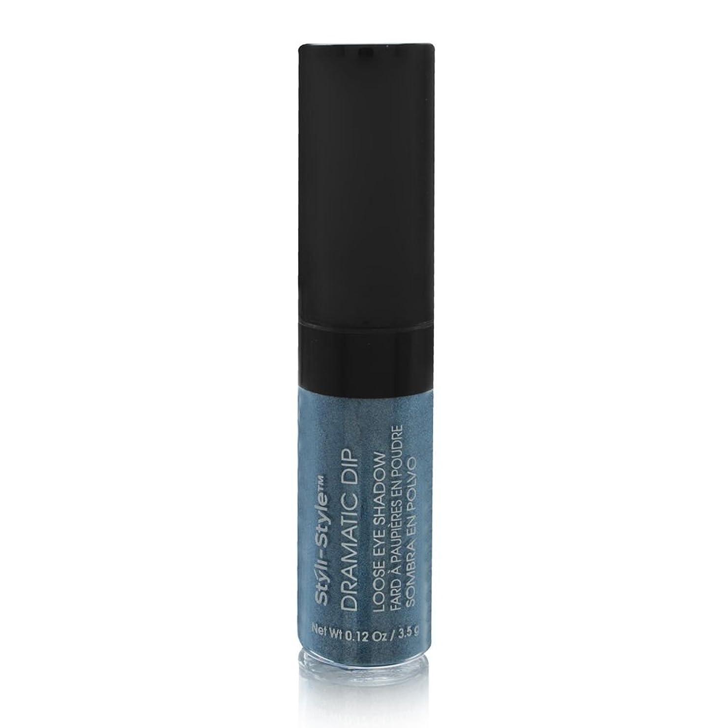 追放ボトル制限するStyli-style Cosmetics スタイラススタイルの劇的なディップルースアイシャドウシーブリーズ