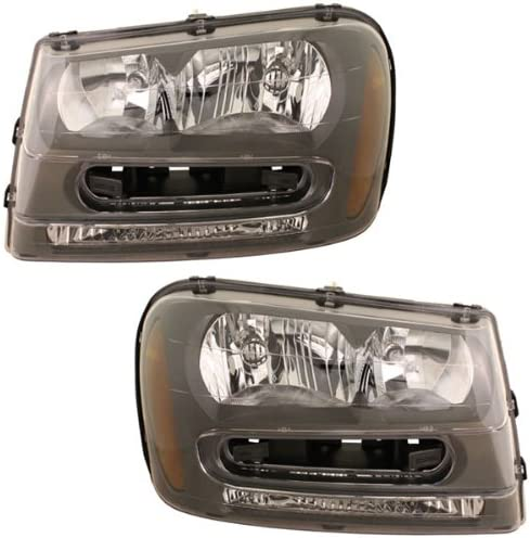 Koolzap For Bargain Recommendation 02-09 Trailblazer Headlight Headlamp Head Light Lamp