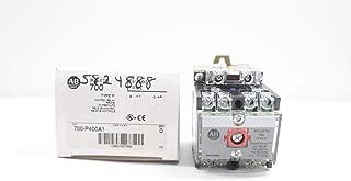 ALLEN BRADLEY 700-P400A1 Direct Drive Type P Relay SER D 115-120V-AC D654087