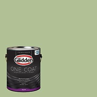 Glidden Interior Paint + Primer: Green Interior Paint /Harmonious, One Coat, Eggshell, 1 Gallon