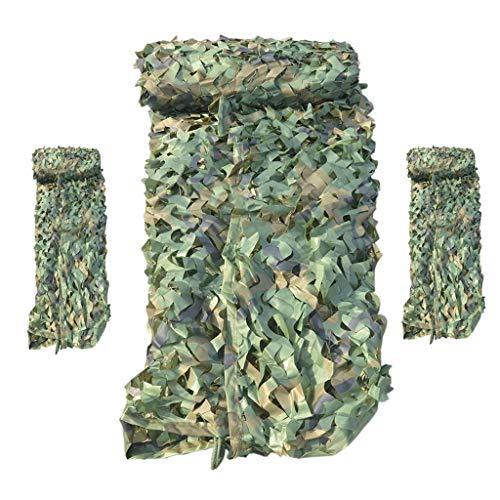 Camouflage Bulk Camouflage Military Decorative Shade - Camouflage Net Oxford Polyester Rolgordijnen Wapeningsnet Camouflagenet Outdoor Jungle Camouflage Shading Netto (Size : 3m×10m)