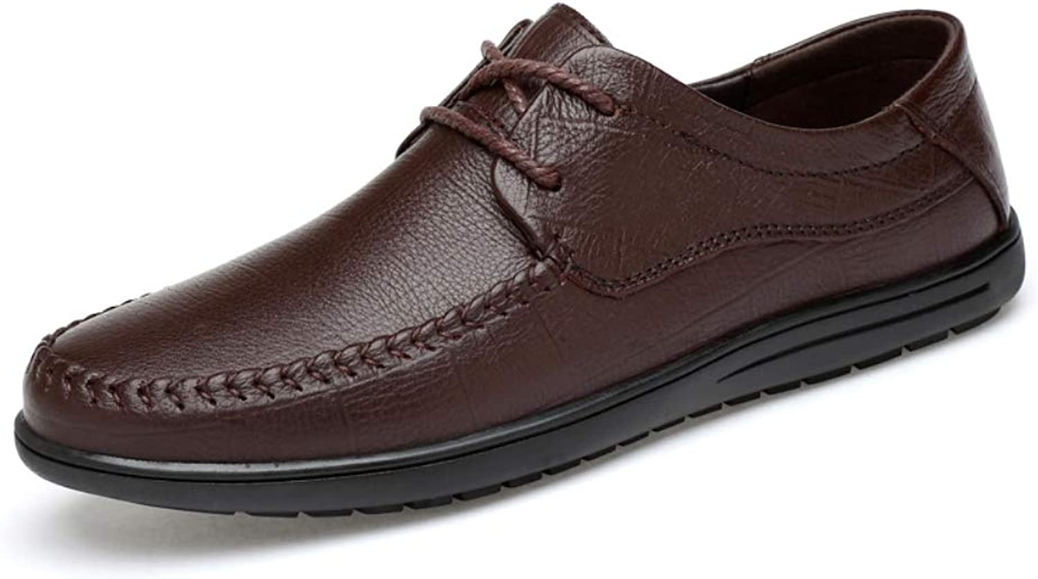 Men's Lace-Up Casual shoes Leather Business Oxford shoes
