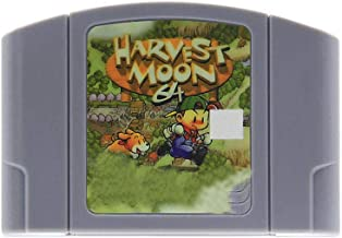 N64 Video Games Harvest Moon English Language for 64 bit USA Version Video Game Cartridge Console