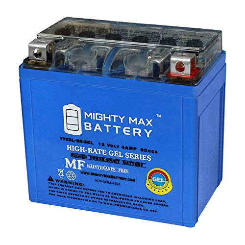 Mighty Max Battery YTX5L-BS Gel Battery for X5L FAYTX5L GTX5L-BS Batteries Brand Product