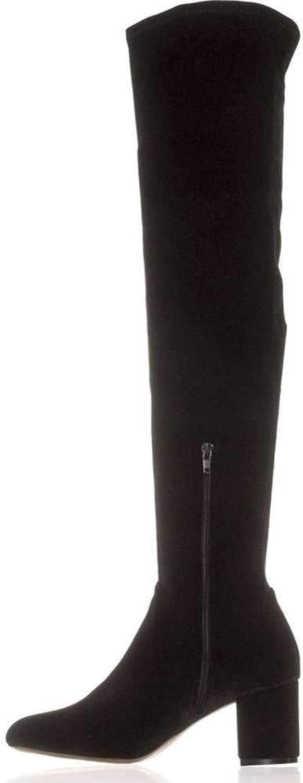 INC International Concepts Womens Rikkie2 Closed Toe, Black Velvet, Size 10.5