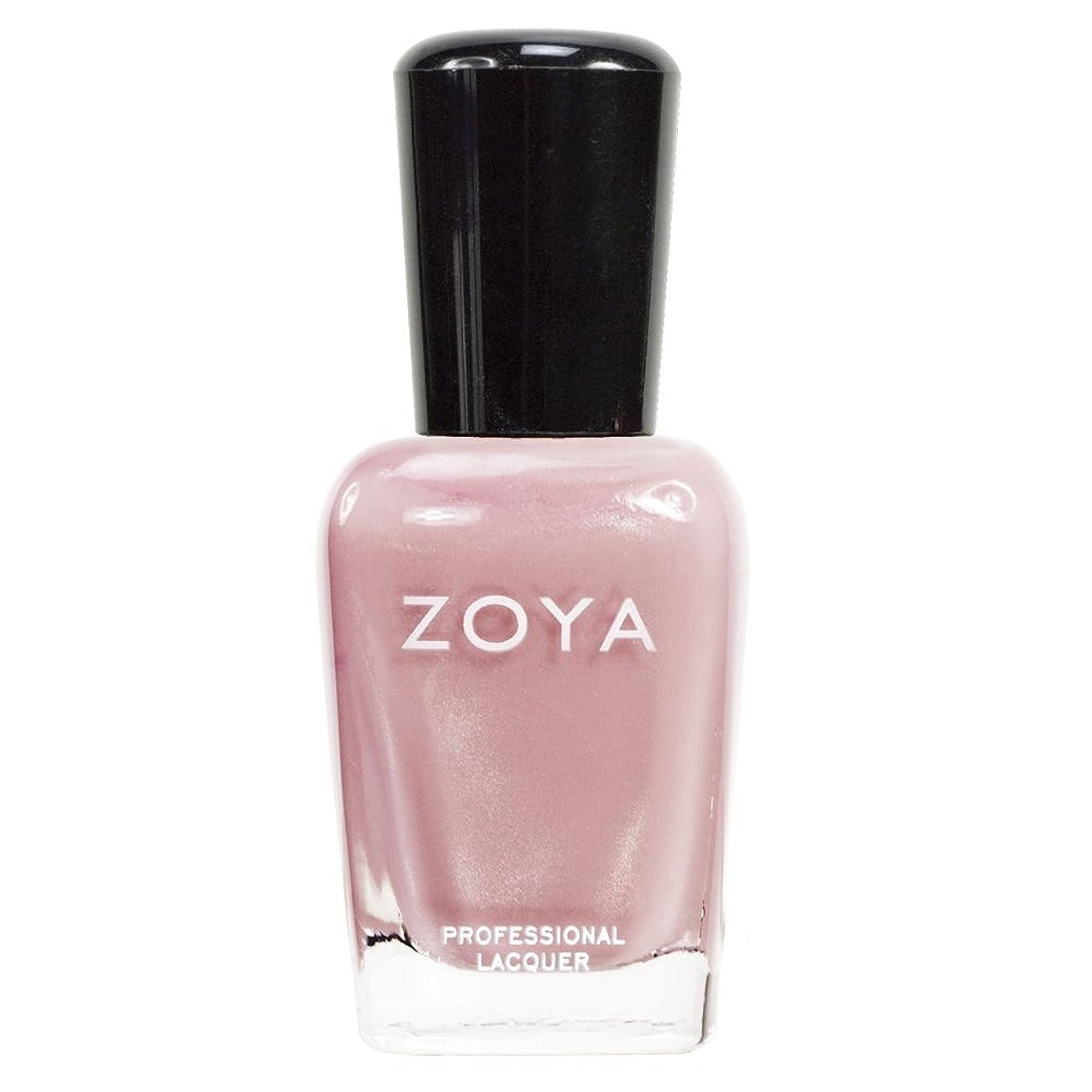 エミュレーション不格好地元ZOYA ゾーヤ ネイルカラーZP351 SALLY サリー 15ml ほんのり色づくピンク シアー?パール/メタリック 爪にやさしいネイルラッカーマニキュア