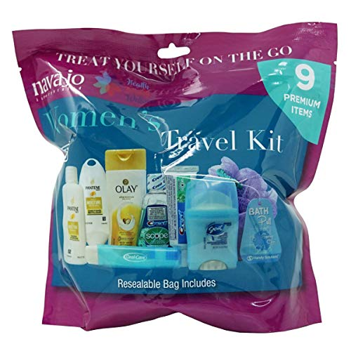 Handy Solutions 9 Piece Resealable Women's Travel Kit