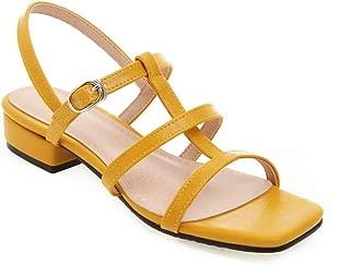 BalaMasa Womens ASL06949 Pu Fashion Sandals
