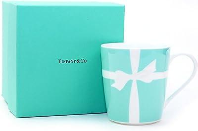 ティファニー TIFFANY&Co マグカップ ブルーリボン 1客 国内未発売モデル ブルー リボン ボックス 日本製 (名入れなし)
