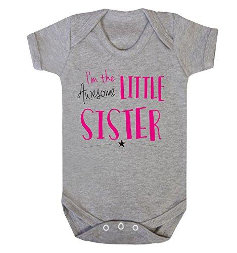 Reality Glitch Baby Mädchen (0-24 Monate) Spieler Gr. 12-18 Monate, hellgrau