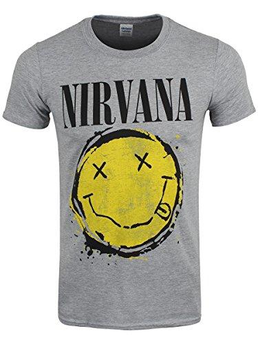 Nirvana - Camiseta - Estampado - para hombre