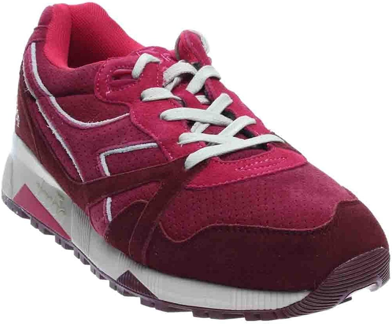Diadora herr N9000 S S S röd Beet mocka Storlek 10  online shopping sport