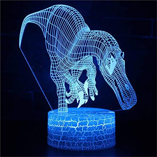 3D Luz de la noche LED luz de la noche Luz del humor 7 colores Touch lámpara para el Hogar Lámpara de Decoración de Cumpleaños San Valentín Regalo Para Niño y Adultos Estilo 3