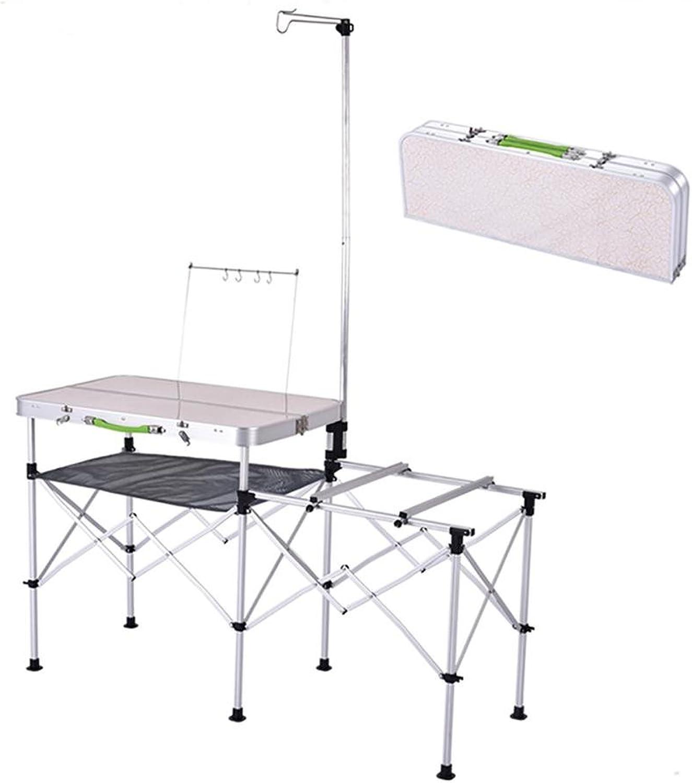 ANKANG Mobile Küche Grill Multifunktionsfalte Campingkocher bewegliche im Freien