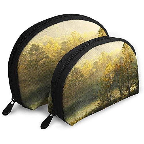 Cades Cove - Der Great Smoky Mountains Nationalpark Tragbare Taschen Kosmetiktasche Kulturbeutel Tragbare Multifunktionsreisetaschen